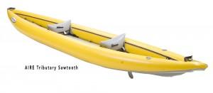 Tributary Sawtooth Kayak Rear Angle