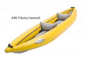 Tributary Sawtooth Kayak Front Angle