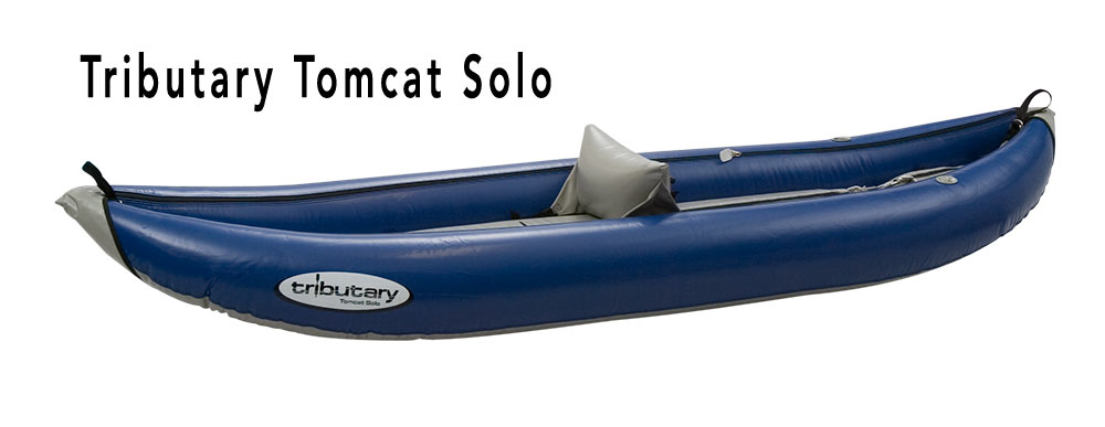 Tributary Tomcat Solo Inflatable River Kayak