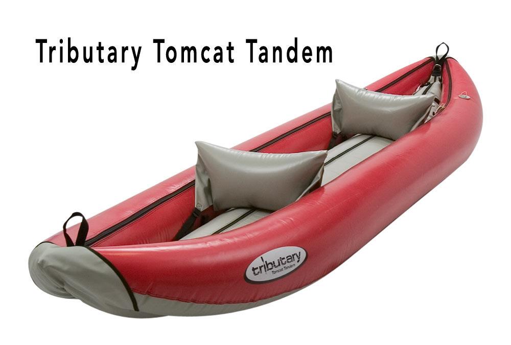 Tributary Tomcat Tandem Inflatable River Kayak